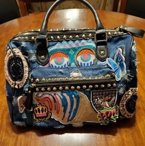 Really crazy fun denim bag bought in Italy